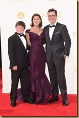 stephen-colbert-evelyn-mcgee-colbert-emmys-2014-emmy-awards